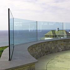 Gard-corp en verre