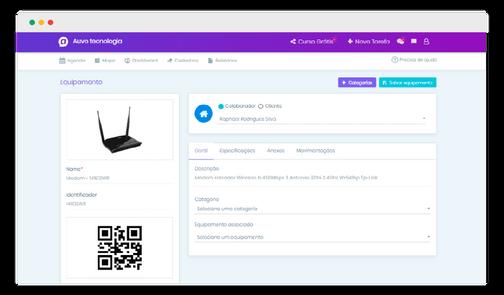 AuvoService - Software para Gestão da Manutenção