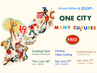One City Many Cultures - Virtual 2020