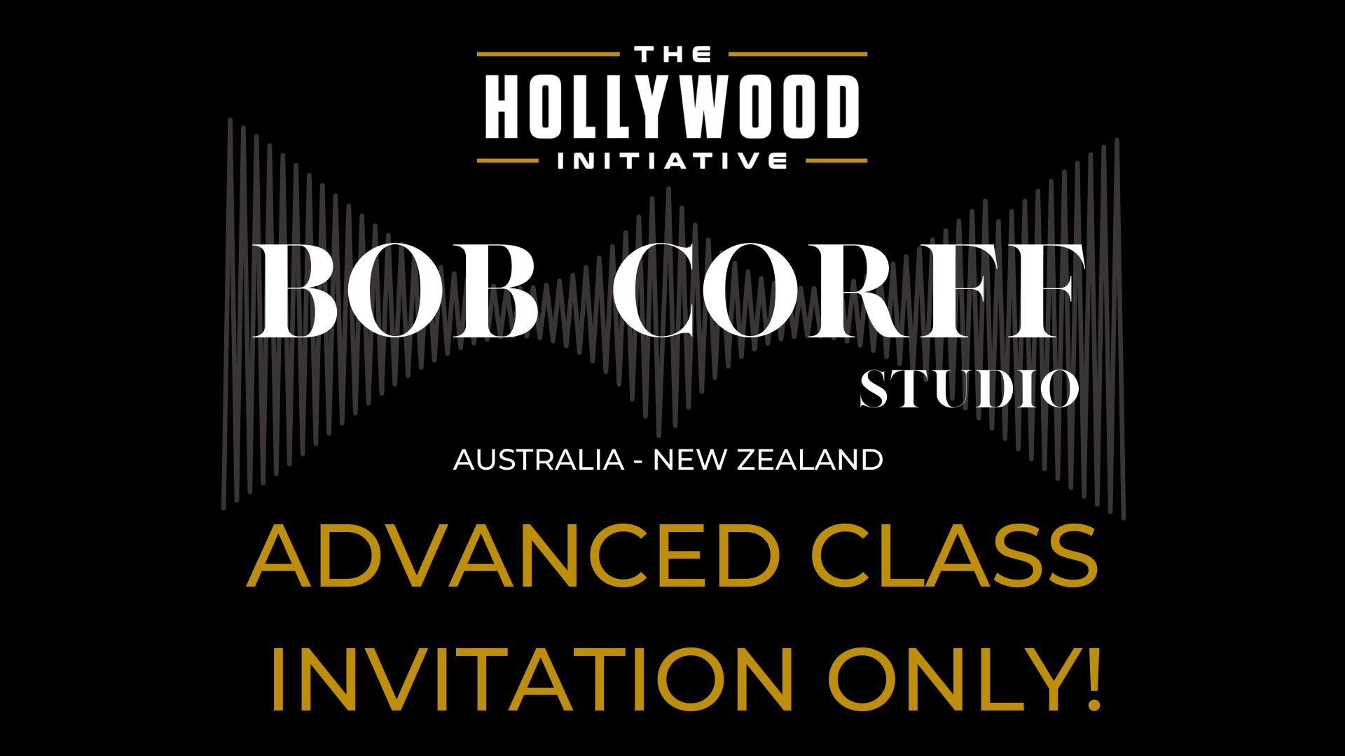 Corff Advanced Class INVITATION ONLY