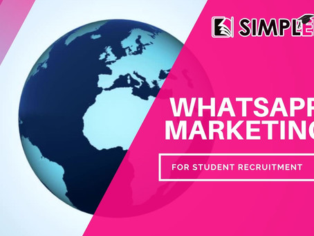 Whats App Marketing for Student Recruitment