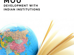 MoU development with Indian Institutions handbook