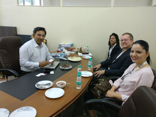 Meeting with Indian Education Leaders