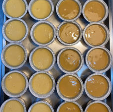 Coulants (carmel i crema catalana)