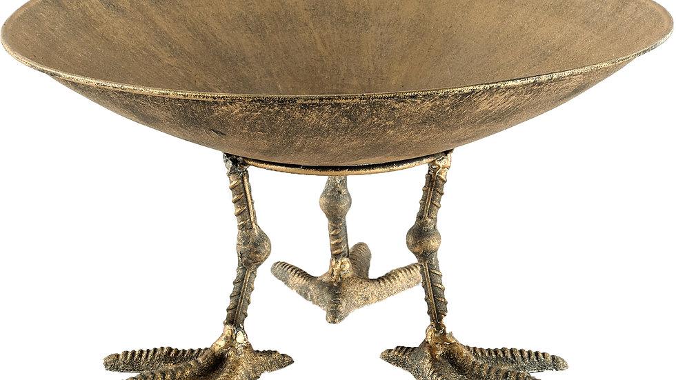 Chadwick Gold Metal Bowl