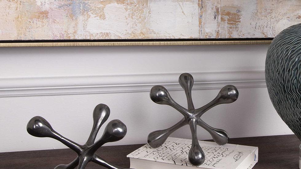 Harlan Objects Black Nickel Set/2