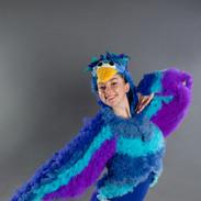 Brooke as the Bird