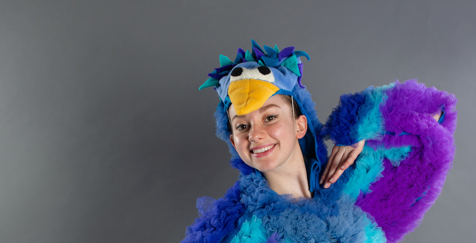 Brooke as the Bird in Peter and the Wolf, 2020