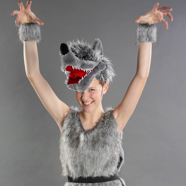 Aubrey as the Wolf