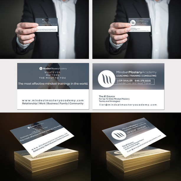 Business Cards Design Mastery Academy.jp