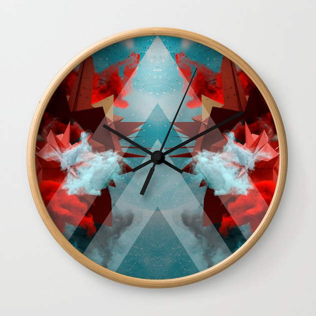 From Future Wall Clock