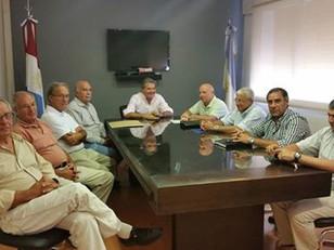 Reunión con el Ministro de Agricultura y Ganadería