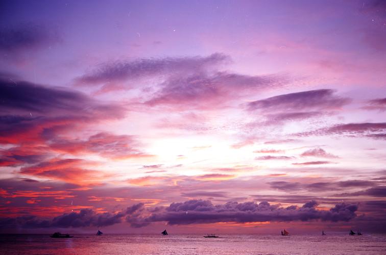 Sunset in xx