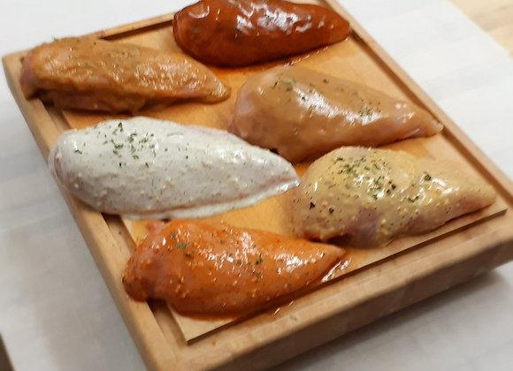Poitrine de poulet marinée (4)