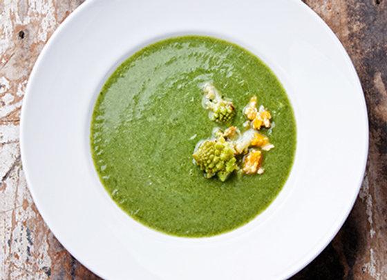 Potage aux brocolis
