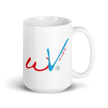 White wV DownTempo Mug