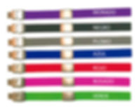 Catálogo de colores de las correas de silicona doctorID