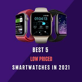 Best 5 Smartwatches 2021