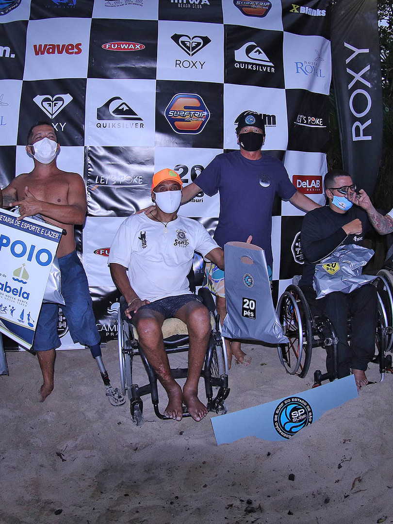 Podio Surf Adaptado SPSurf