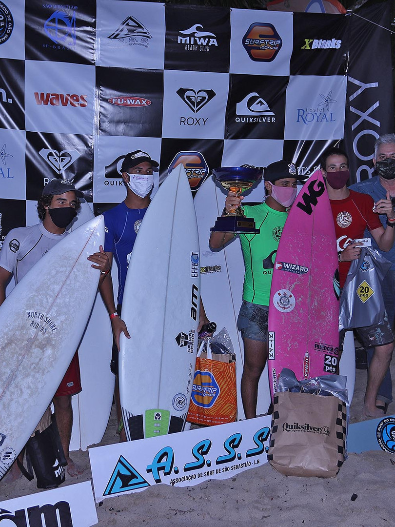 Podio Sub 16 SPSurf Categorias de Base