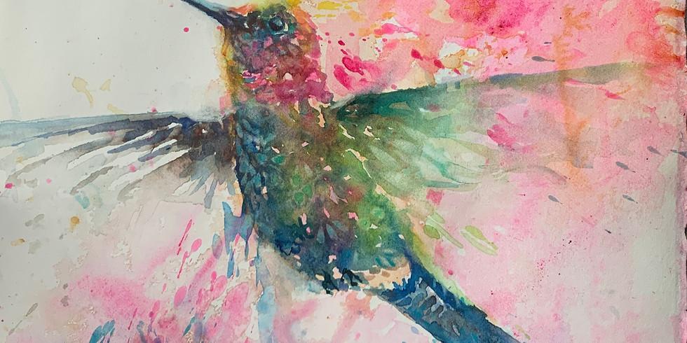 Joyful Artist Quest: Happy Dance Watercolor Classes