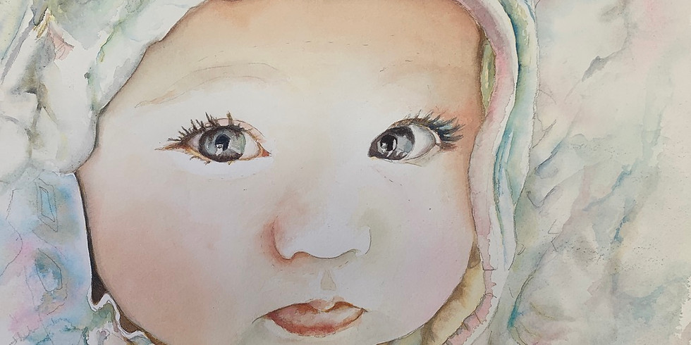 Learn to Paint Watercolor Portraits with Personality - Six Weeks of Fun
