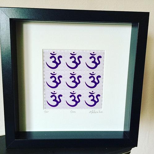 Oms LSD Blotter Art Print