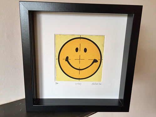 Smiley LSD Blotter Art Print
