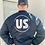Thumbnail: Blue HWND Bomber Jacket
