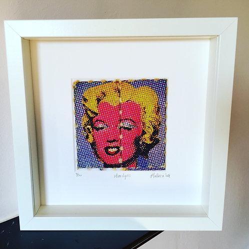 Marilyn's LSD Blotter Art Print