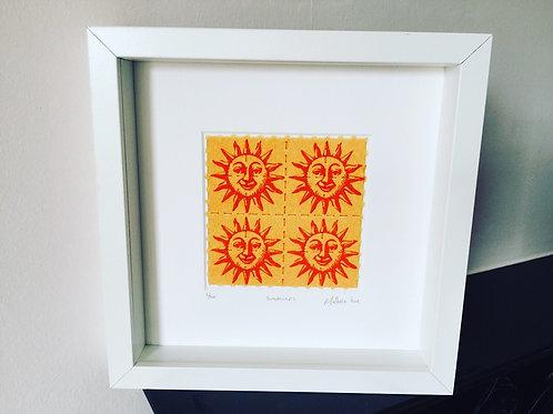 Sunshine LSD Blotter Art Print