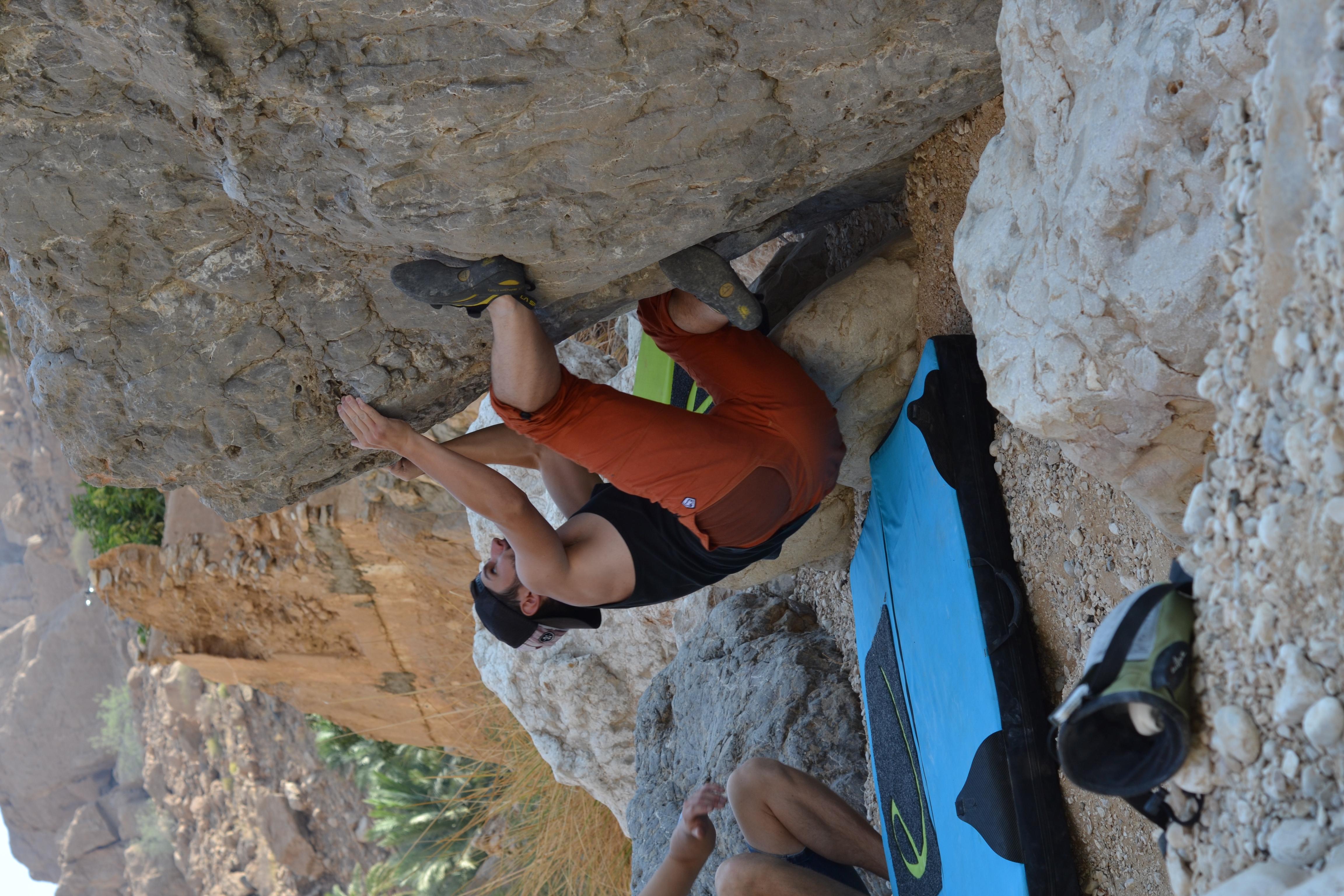 Tag 7 - Wadi Tiwi, Wadi Shab - Campen Beach Klippen (7)