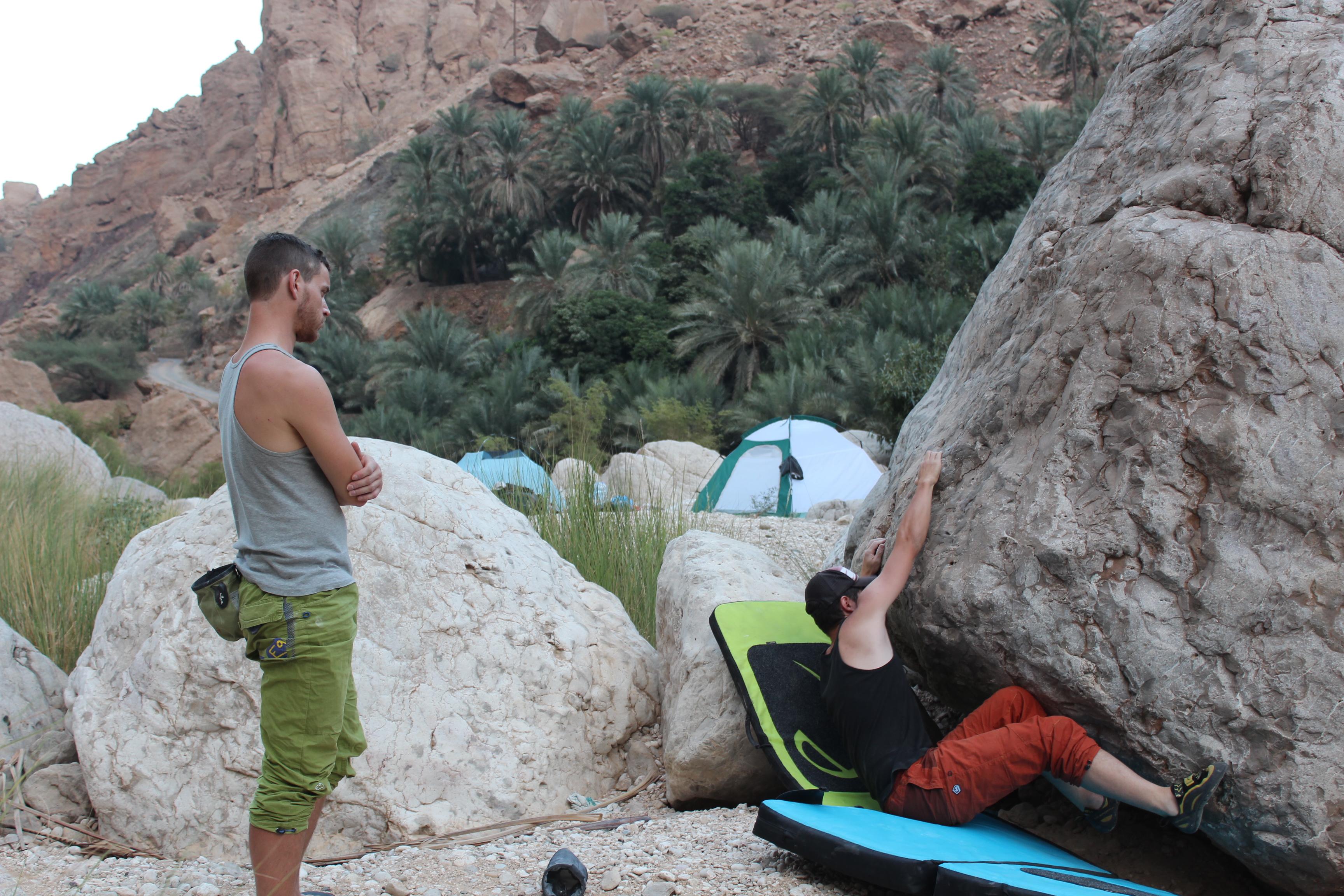 Tag 6 - Sur, Wadi Tiwi - Campen Wadi Tiwi (33)