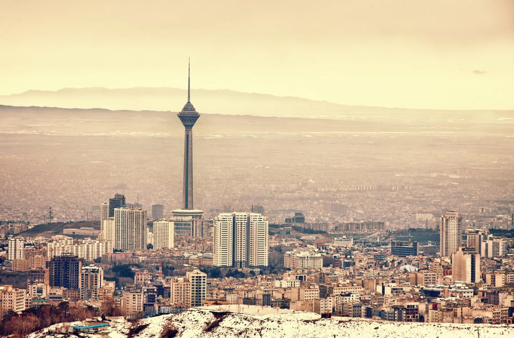 Die Millionenstadt Teheran