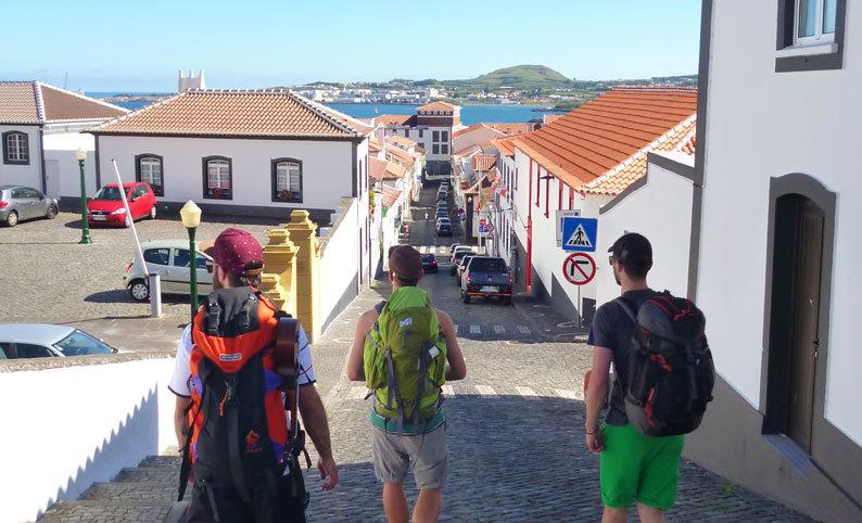 Backpacking Azorenreise