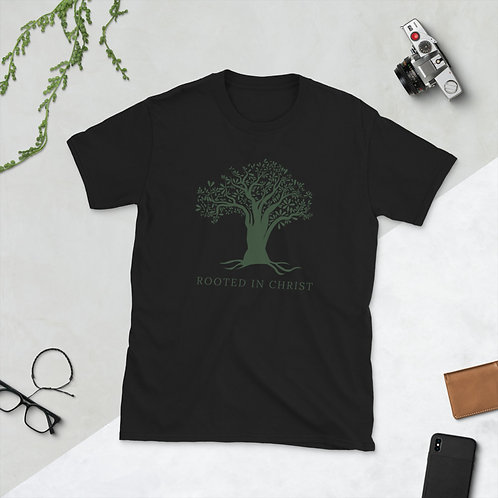 Rooted In Christ Short-Sleeve Unisex T-Shirt
