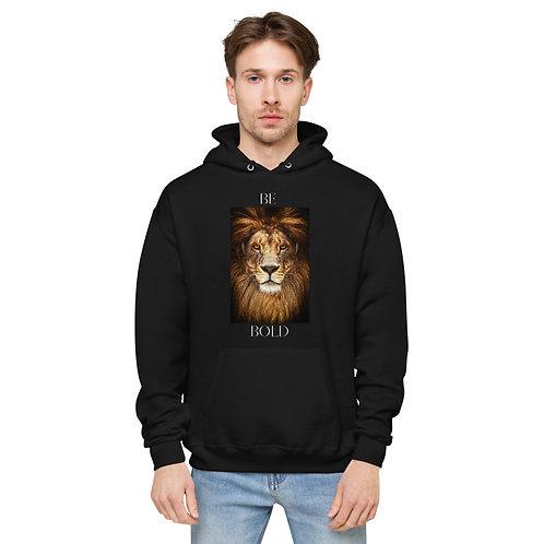 Be Bold Unisex fleece hoodie