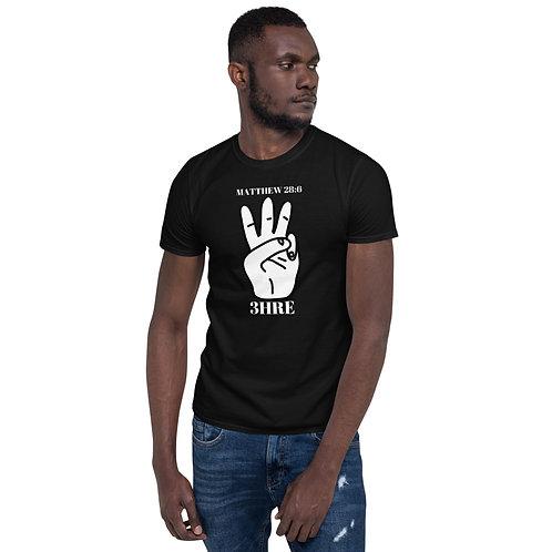3HRE Matthew 28:6 Short-Sleeve Unisex T-Shirt