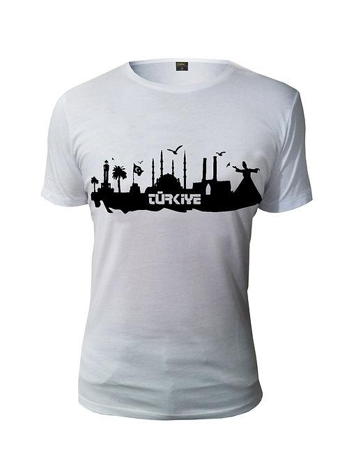 Baskılı T-Shirt (TÜRKİYE)