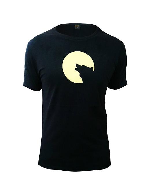 Baskılı T-shirt (WOLFNMOON)