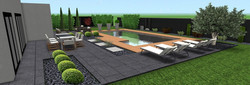 superbe piscine terrasse terracity