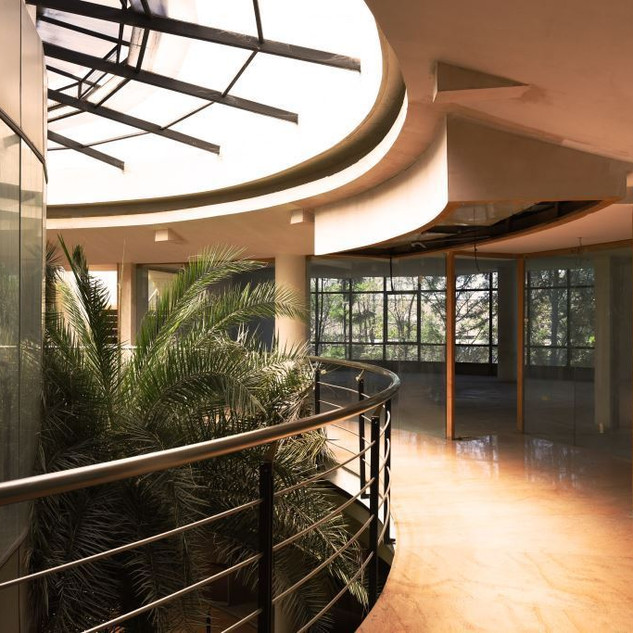 Corridor and Green Space