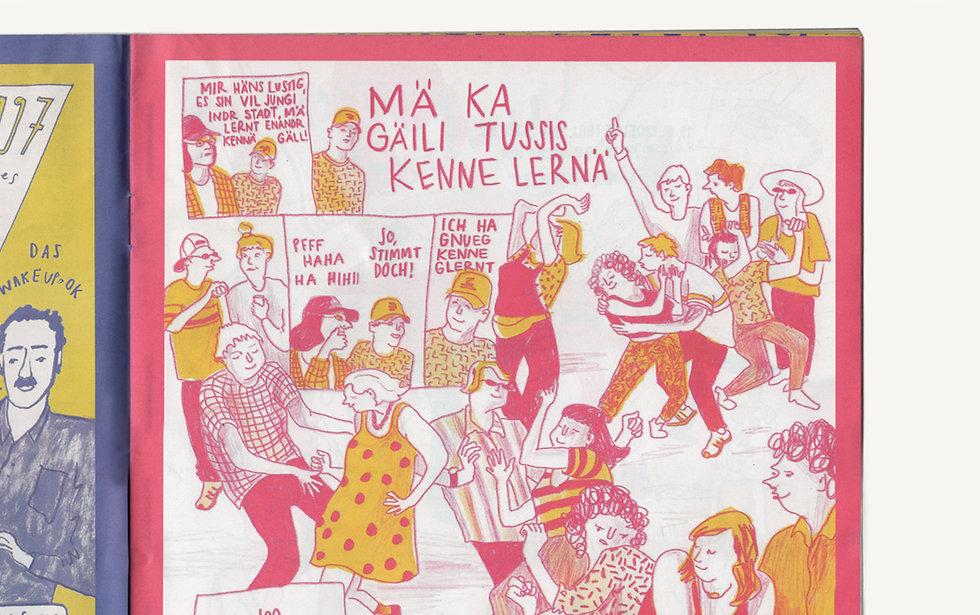JKF Comic