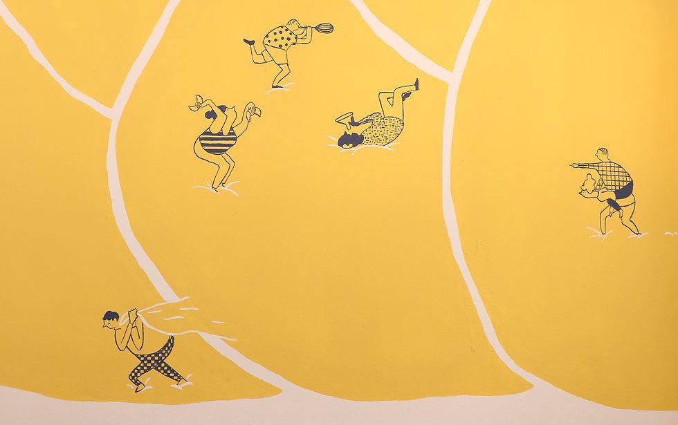 Wandbild Bäckerei Kult