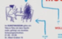 Infografik Illustration Museumsnacht