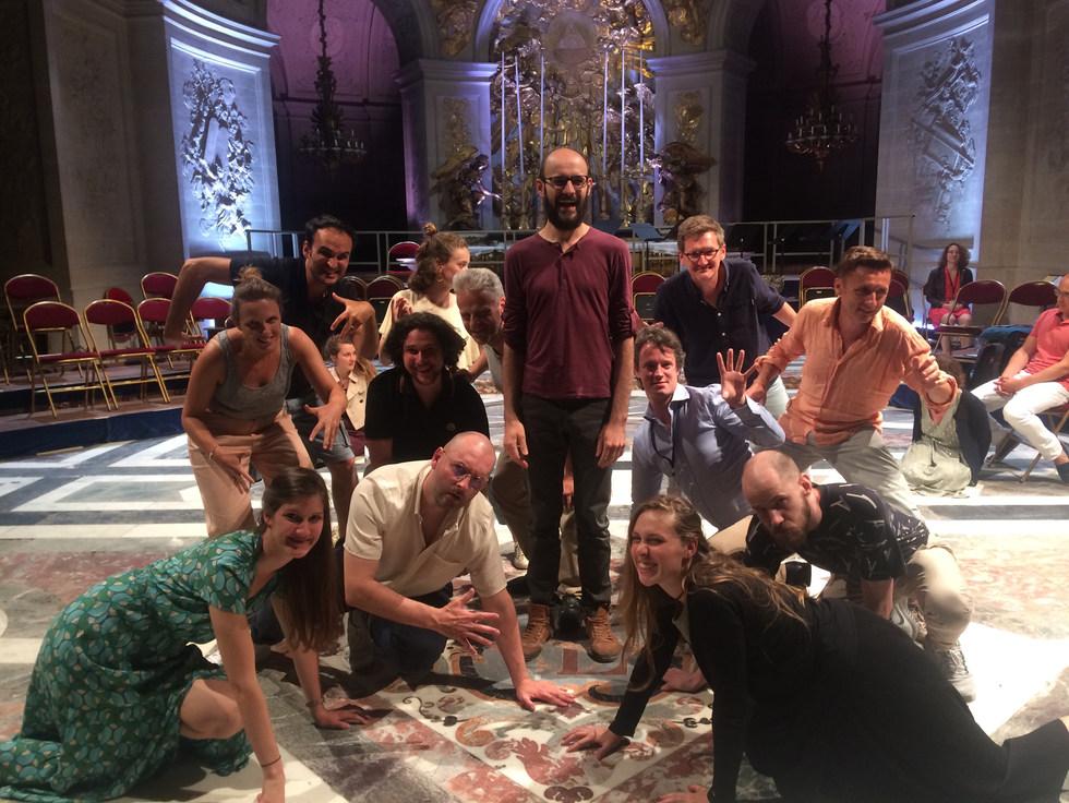 """2019 / Reprise du spectacle """"Les Arts Florissans"""" (créé en 2017)"""