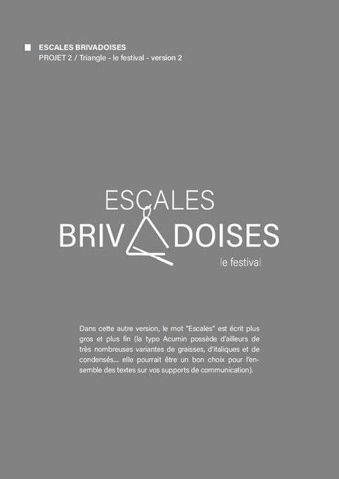 2020 / Escales Brivadoises