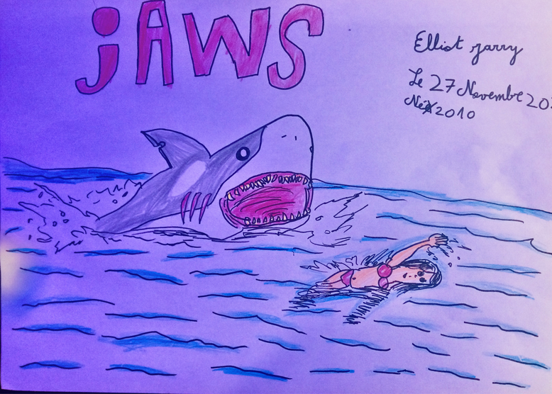 Jaws by Elliot Jarry