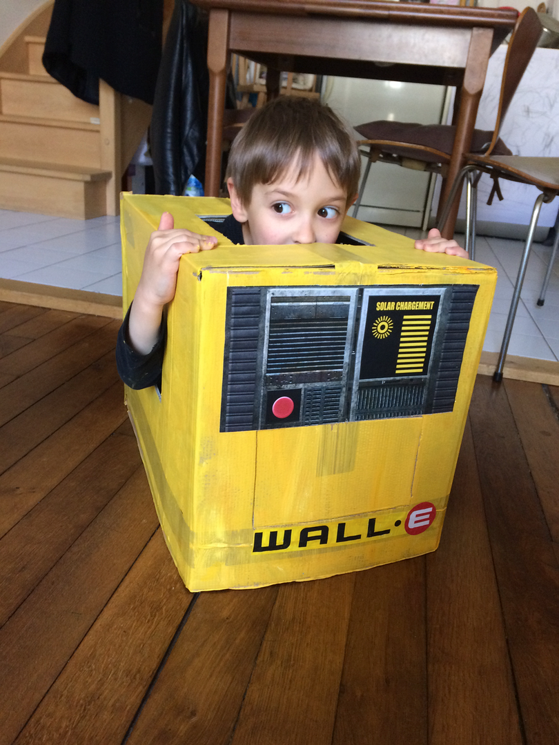 Costume de Wall-E / Work in progress