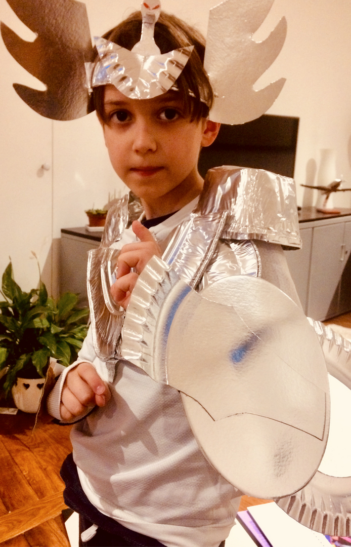 costume de Hyoga / Chevalier du Cygne